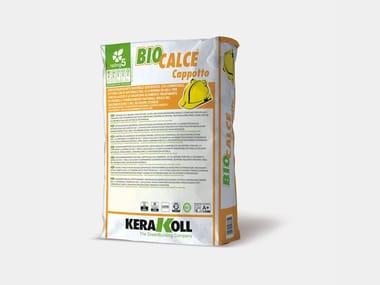 Adesivo&Rasante naturale certificato BIOCALCE® CAPPOTTO