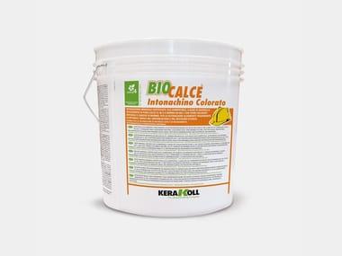 Intonachino minerale a base di grassello BIOCALCE® INTONACHINO COLORATO