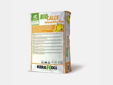 Rasante naturale eco-compatibile BIOCALCE® INTONACHINO FINO