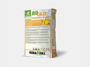 Rasante naturale eco-compatibile BIOCALCE® INTONACHINO GRANELLO