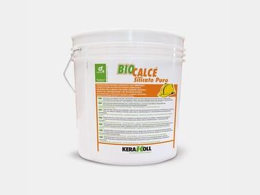Intonachino minerale a base di puro silicato BIOCALCE® SILICATO PURO