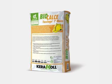 Biocalce per murature in elevazione umide BIOCALCE® TASCIUGO® 1a MANO