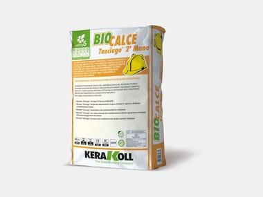 Biocalce per murature in elevazione umide BIOCALCE® TASCIUGO® 2a MANO