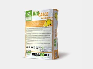 Intonaco naturale per zoccolature traspiranti BIOCALCE® ZOCCOLATURA