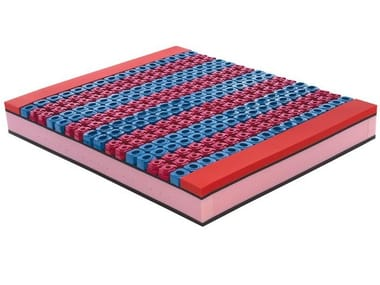 Anti-allergy anti-mite anti-bacterial mattress BIOCICLONIC PLATINO