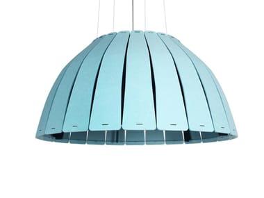 LED acoustic PET pendant lamp BIRD CAGE