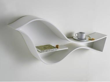 Polyurethane wall shelf / wall cabinet BIRDIE