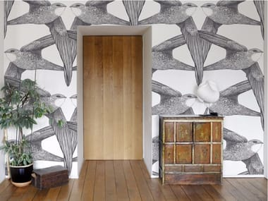 Motif wallpaper BIRDS