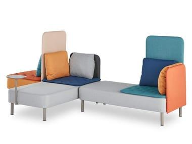 Sofá modular para hostelería BISCUIT