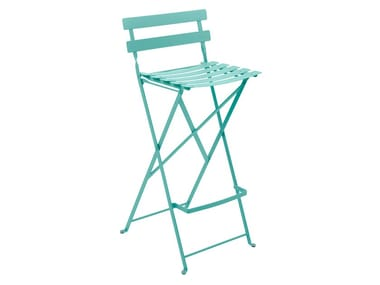 High steel garden stool BISTRO | Garden stool