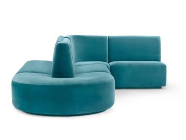 Modular fabric sofa BISTRO