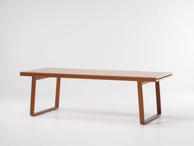 Extending teak garden table BITTA | Table
