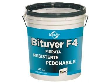 Guaina liquida pigmentata elastomerica fibrata BITUVER F4