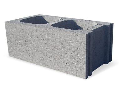 External masonry block in concrete BL 25