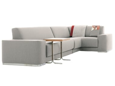 Sectional fabric sofa with removable cover BLADE | Corner sofa