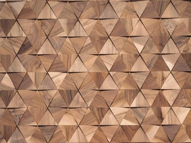 Indoor wooden 3D Wall Cladding BLADES