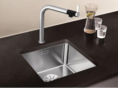 Single undermount stainless steel sink BLANCO ANDANO 400-U