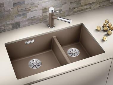 1 1/2 bowl undermount Silgranit® sink BLANCO SUBLINE 430/270 U