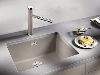 Single built-in Silgranit® sink BLANCO SUBLINE 500 U | Silgranit® sink