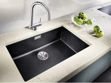 Single built-in Silgranit® sink BLANCO SUBLINE 700 U