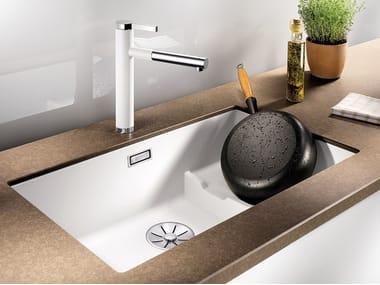 Built-in Silgranit® sink BLANCO SUBLINE 700 U Level