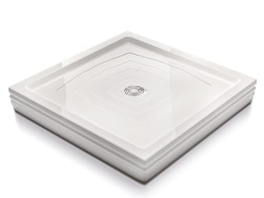 Square shower tray BLANQUE | Shower tray