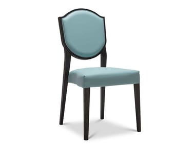 Upholstered stackable chair BLASON 180