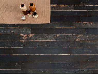 Pavimento/rivestimento in gres porcellanato effetto legno BLENDART DARK