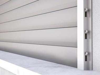 Anti-burglary aluminium roller shutter BLINDZA
