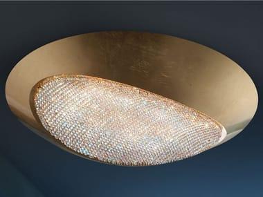 Plafoniera a LED in alluminio con cristalli Swarovski® BLINK LED PL60
