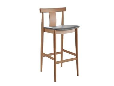 Upholstered wooden barstool BLOG | Upholstered stool