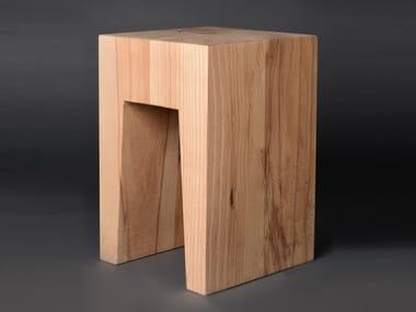Beech stool BLOK#02