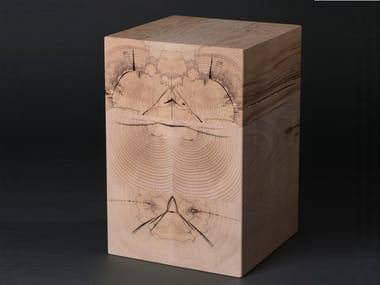 Beech stool or side/coffee table BLOK#12