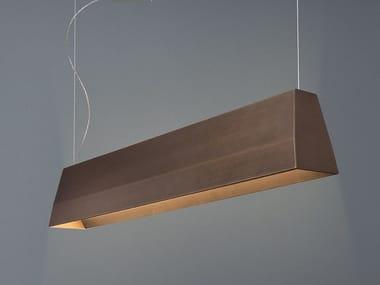 LED direct-indirect light aluminium pendant lamp BLONDE
