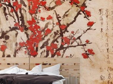 Papel de parede estilo oriental BLOSSOM