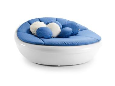 Round garden bed LAGOON