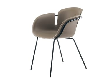 Chair with armrests BLUMI | Chair