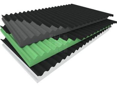 Thermal insulation panel BLUONDA COPPO