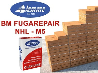 Mortar and grout for renovation BM FUGAREPAIR NHL - M5