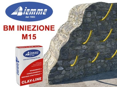 Renovation mortar and grout for renovation BM INIEZIONE - M15