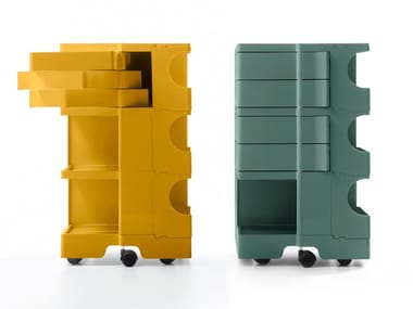 ABS office drawer unit with castors BOBY