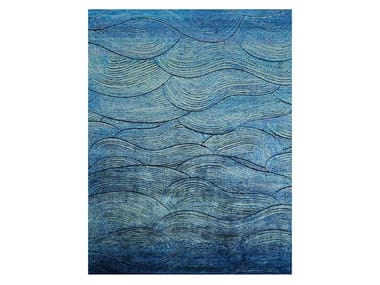 Handmade rectangular rug BOHEMIAN DAWN