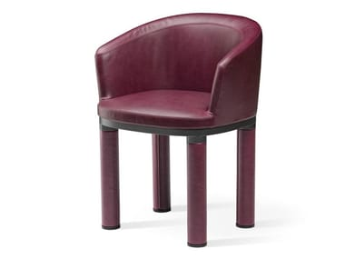 Upholstered chair with armrests BOLD | Chair