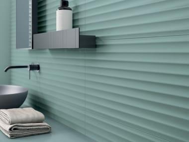 White-paste 3D Wall Cladding BOLD SALVIA