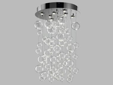 Blown glass ceiling lamp BOLERO | Ceiling lamp