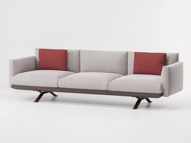 3 seater fabric garden sofa BOMA | 3 seater garden sofa