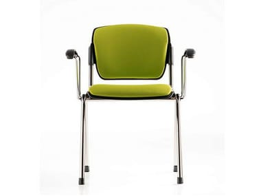 Fabric chair / training chair BONN | Training chair with armrests