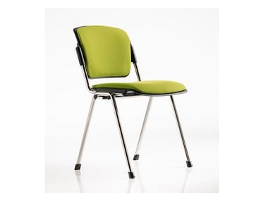 Fabric chair / training chair BONN | Stackable training chair