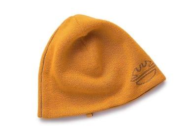 Cappello cuffia in tessuto knit rib BONNY SENAPE