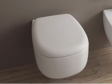 Wall-hung ceramic toilet BONOLA | Wall-hung toilet